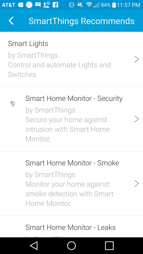 SmartThings: What's in the App? Let's have a look!